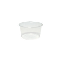 CONTAINER ROUND PP MICRO 450ML