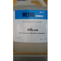 ALLSAN CLEANER SANITISER 5LTR