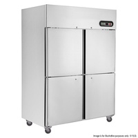 SUC1000 TROPICAL Thermaster 4½ door SS Fridge