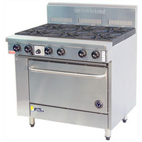 Goldstein 6 Burner Gas Range PF-6-28