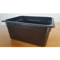 Cambro GN 1/2 Food Pan 150mm Black