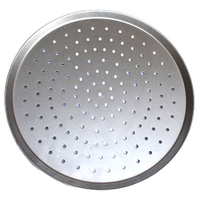 Perforated Aluminium Pizza Tray 15 inch