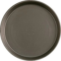 Black Steel Deep Pan 13 inch
