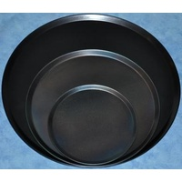 Black Steel Pizza Tray 14 inch