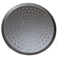 Perforated Aluminised Steel Pizza Tray 9 inch