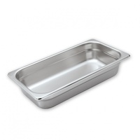 GN 1/3 Stainless Steel Food Pan 100mm