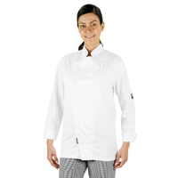 CHEF JACKET WHITE MEDIUM