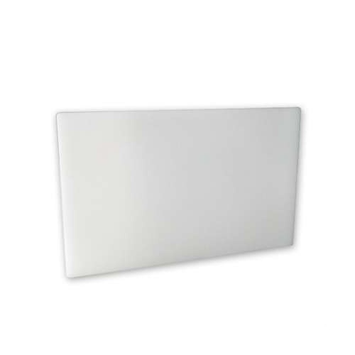 CUTTING BOARD-PE 325x530x20mm WHITE